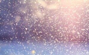 砂漠に雪を降らせる
